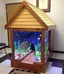 Aquarium Dog House