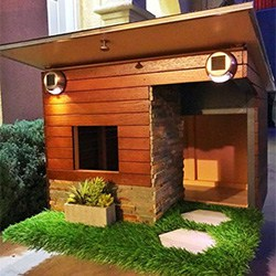 Custom Made Dog House