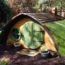 Hobbit Hole Dog House