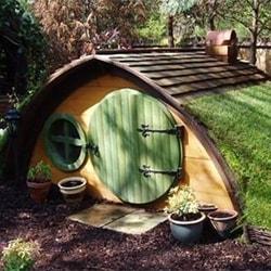 Hobbit Hole Dog House