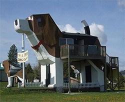 Human Dog House